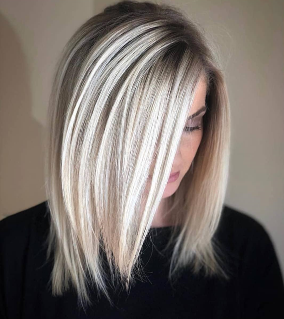 Why Medium Length Straight Hairstyle is the Ideal Look