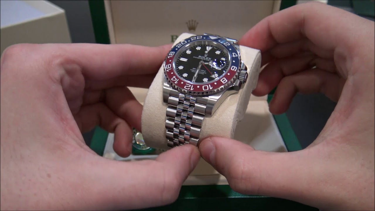 The Hour Glass Offering the Right Rolex GMT Master Buying Experience