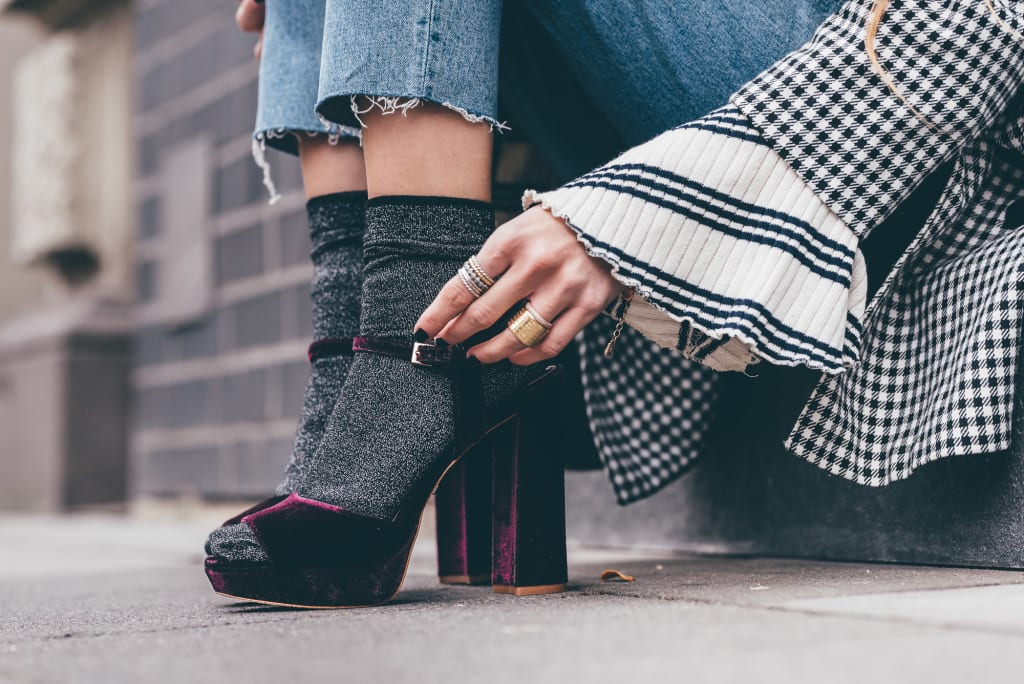 Sock fashions across the continents